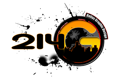 214 Dallas Graphic Design Logo